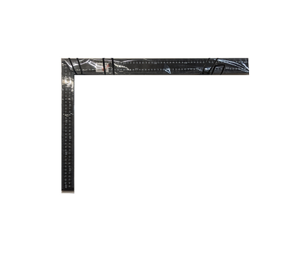 Black Steel Roofing Square 600mm x 400mm