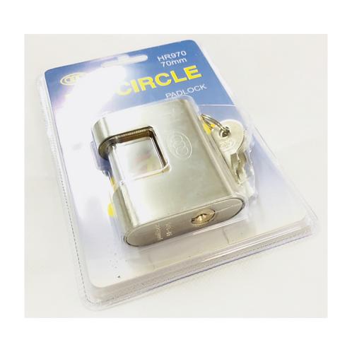 Tri-circle Padlock 70mm