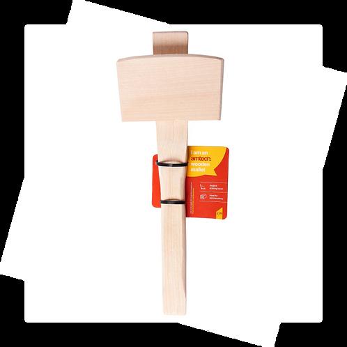 Amtech - 4 1/2″ Wooden Mallet