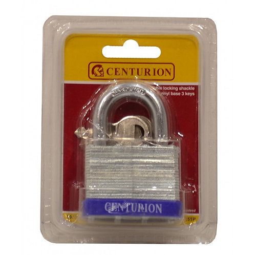 50mm (5 pin) Double Locking Laminated Padlock