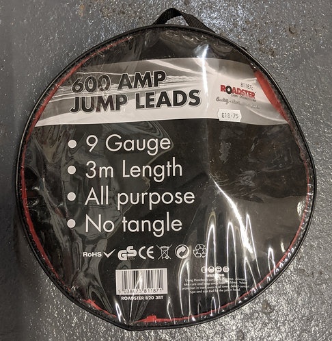 Roadster 600 Amp Jump Leads