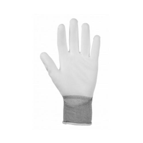 Glenwear White PU Gloves x1pair