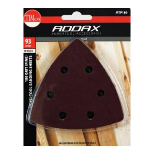 Addax Multi-Tool Sanding Sheets - Medium