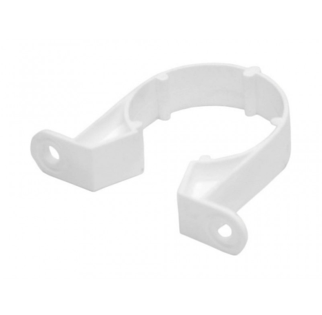 40mm Plastic Pipe Clips (Pack of 4)