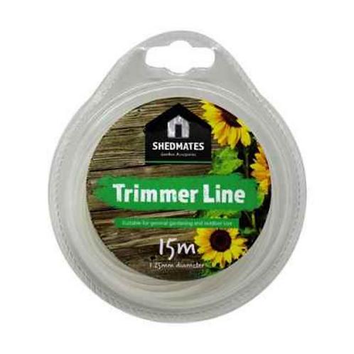 Shedmates 15m x1.25mm Trimmer Line