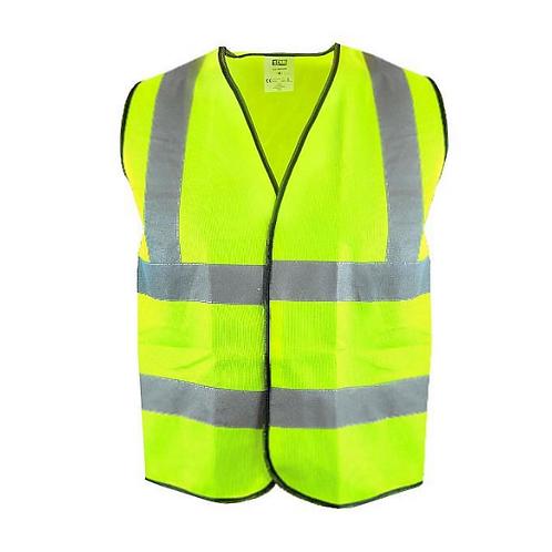 SCAN Hi-Vis Waistcoat Yellow - Various sizes