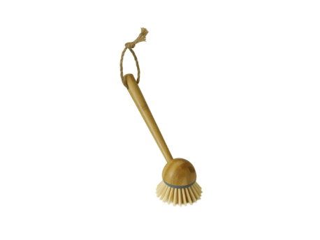 JVL Bamboo Retro Dish Brush