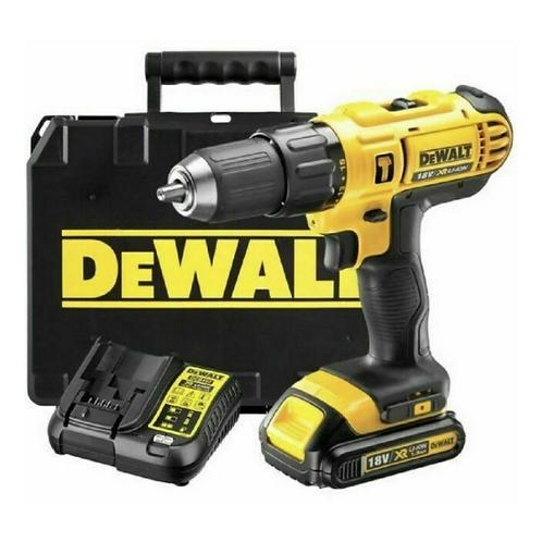 DeWALT XR Cordless 18V 1.3Ah Li-ion Combi drill 1 battery