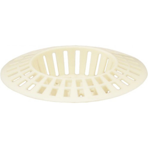 Sink Strainer - White Plastic - 1 1/2""