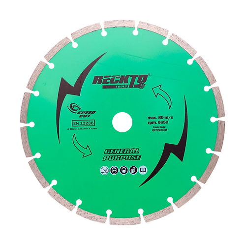 "RECKTO 9"" General Purpose Cutting Disc 230mm"