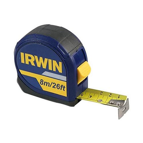IRWIN 10507789 Professional Pocket Tape Measure 8m 26ft
