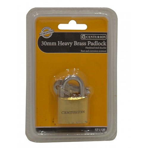 Heavy Brass Padlock - 30mm
