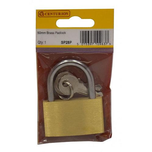 50mm Brass Padlock