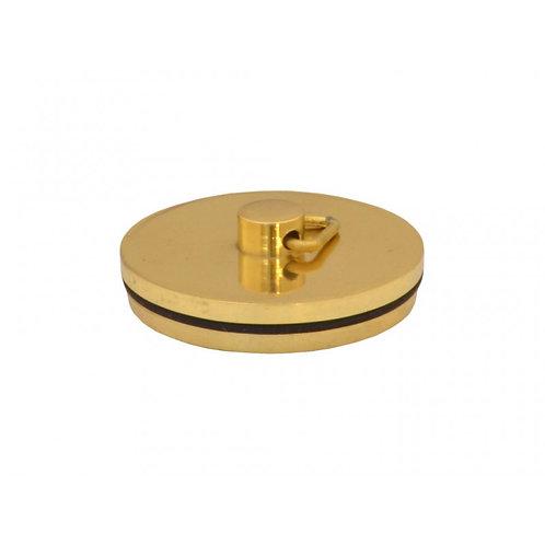 "Plug - Sink Bath - Brass - 1 3/4"""