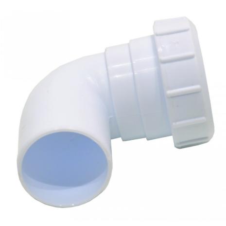 32mm Plastic Compression Swivel Elbow