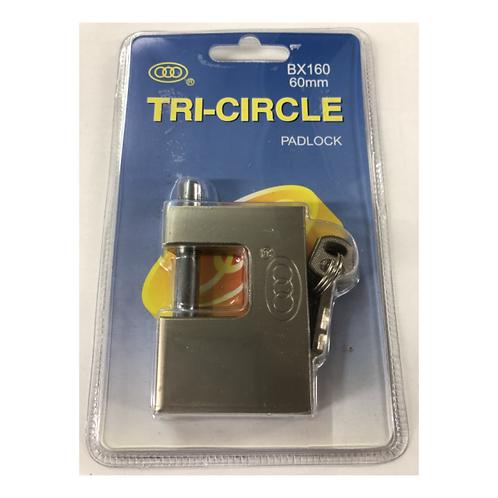 Tri-circle Padlock 60mm