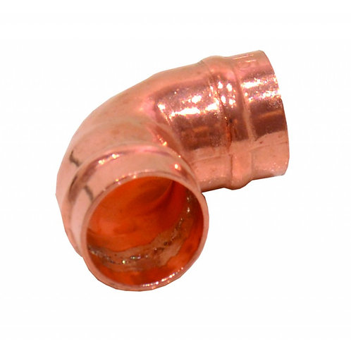15mm Solder Ring Copper Elbow (Pack of 2)