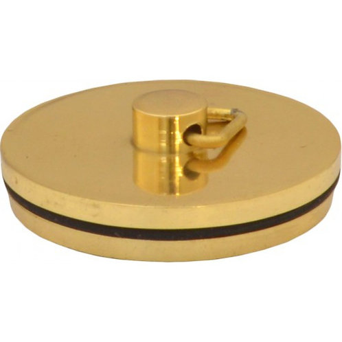 "Plug - Sink Bath - Brass - 1 1/2"""