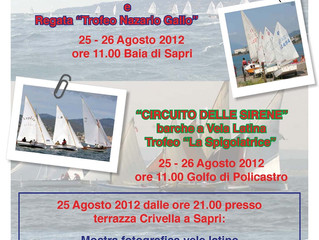 25 - 26 Agosto Week end di Regate al Circolo