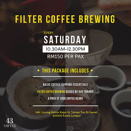 Filter Coffee Brewing