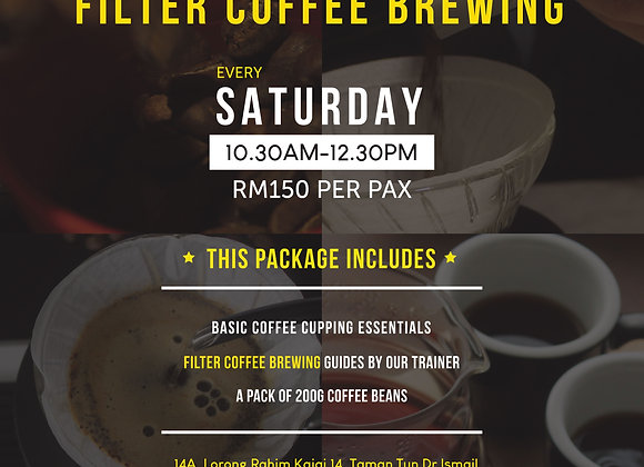 Filter Coffee Brewing