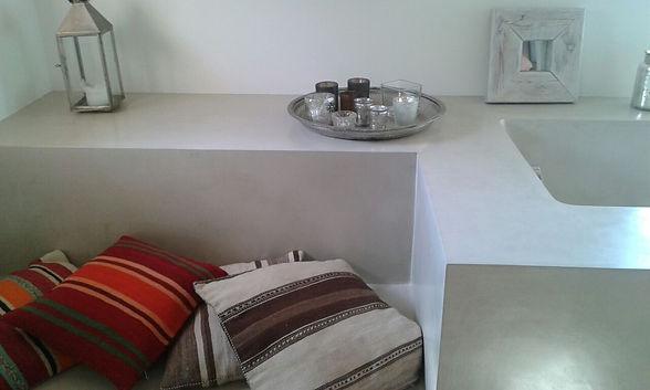 Microcement Sink & Countertop Concrete