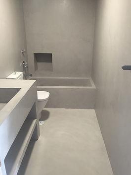 Microcement Bathroom Nebulosa