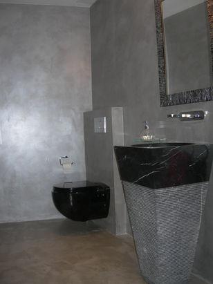 Microcement Selenita Walls & Bison Floor