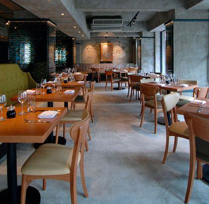 Microcement Selenita Restaurant