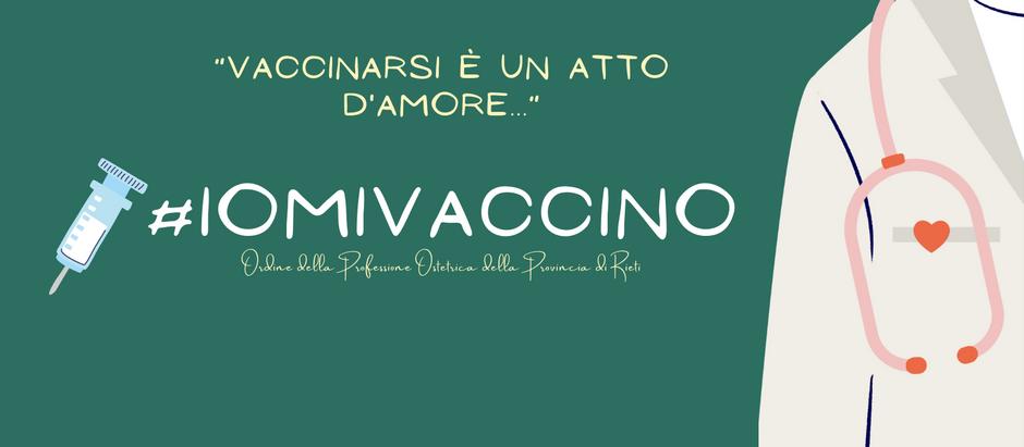 Vaccinarsi è un atto d'amore...