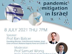 COVID-19 Webinar: Data-driven Pandemic Mitigation in Israel