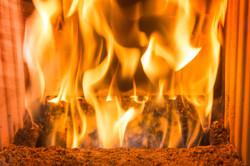 Ganzhausheizung Pelletsfeuer