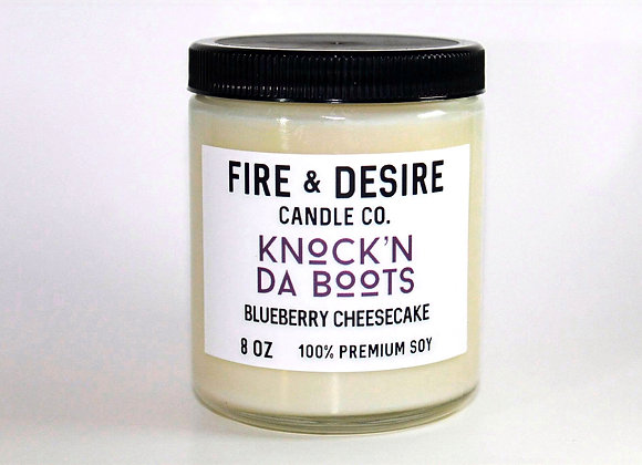 KNOCK'N DA BOOTS Blueberry Cheesecake