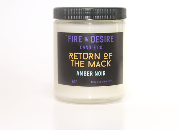 RETURN OF THE MACK Amber Noir
