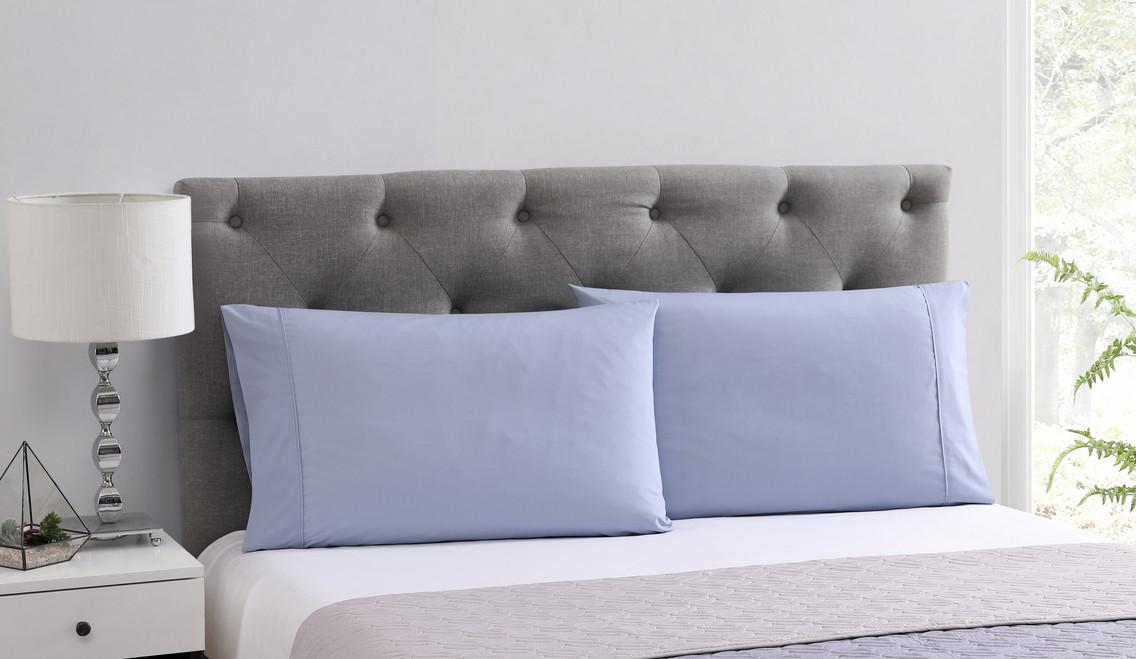 CBD-Infused Blue Pillowcases