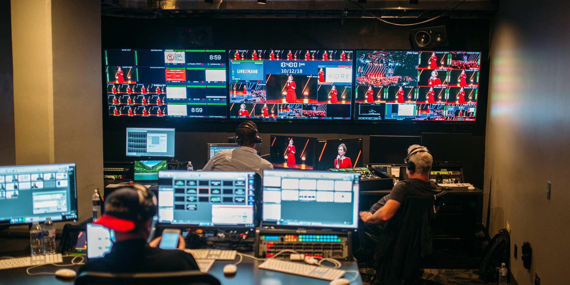 BTS Control Room AV / Production