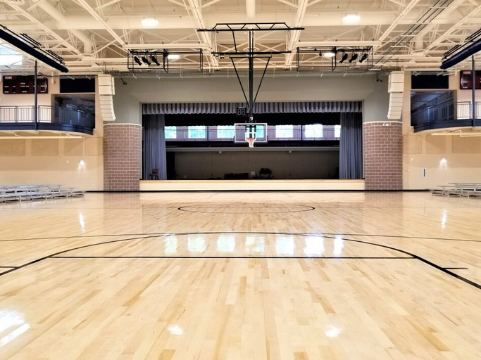 FBCG Family Life Center Basketball Court