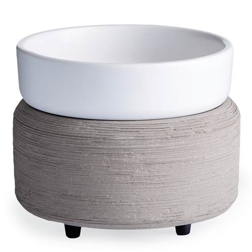 Gray Texture 2-in-1 Classic Fragrance Warmer