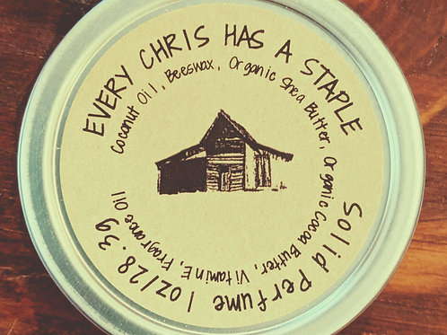Every Chris has a Staple - Solid Cologne
