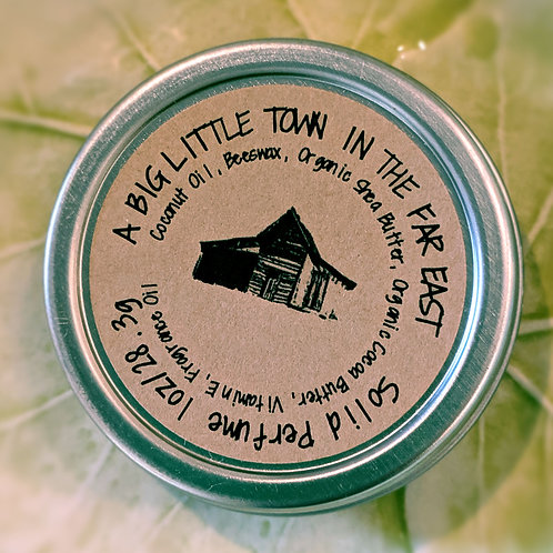 A Big Little Town in the Far East - Solid Perfume