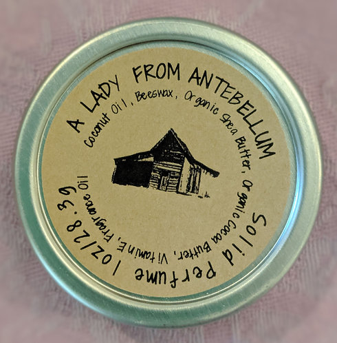 A Lady From Antebellum -Solid Perfume