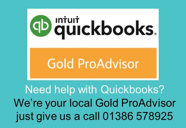 Image showing intuit QuickBooks Gold ProAdvisor logo/certificate