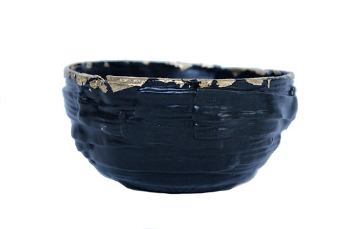 Black and Gold Bowl