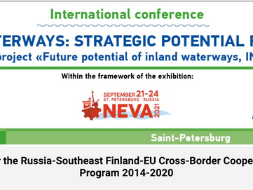 Inland Waterways: Strategic Potential for Growth - Conference 20.9.2021