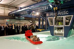 Aker Arctic Ice Laboratory