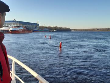 Piloting Smart Buoys on River Neva