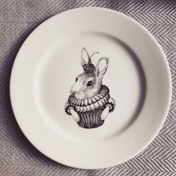 Sin on the Beach for SOYKA, rabbit plate