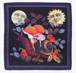Sun&Moon scarf