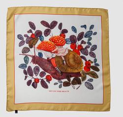 Snail scarf