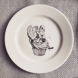 Sin on the Beach for SOYKA, mouse plate